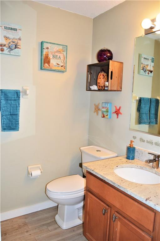Guest bathroom downstairs - Townhouse for sale at 14831 Skip Jack Loop, Lakewood Ranch, FL 34202 - MLS Number is A4451607