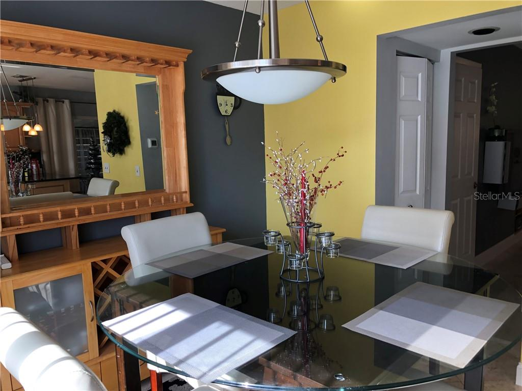Dining area with pantry! - Townhouse for sale at 3434 51st Avenue Cir W, Bradenton, FL 34210 - MLS Number is A4454154