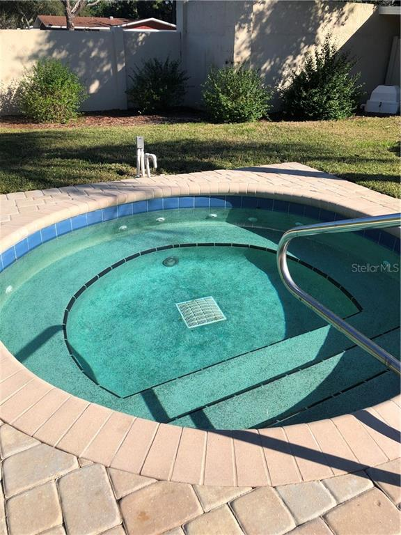 Community hot tub waiting for YOU! - Townhouse for sale at 3434 51st Avenue Cir W, Bradenton, FL 34210 - MLS Number is A4454154