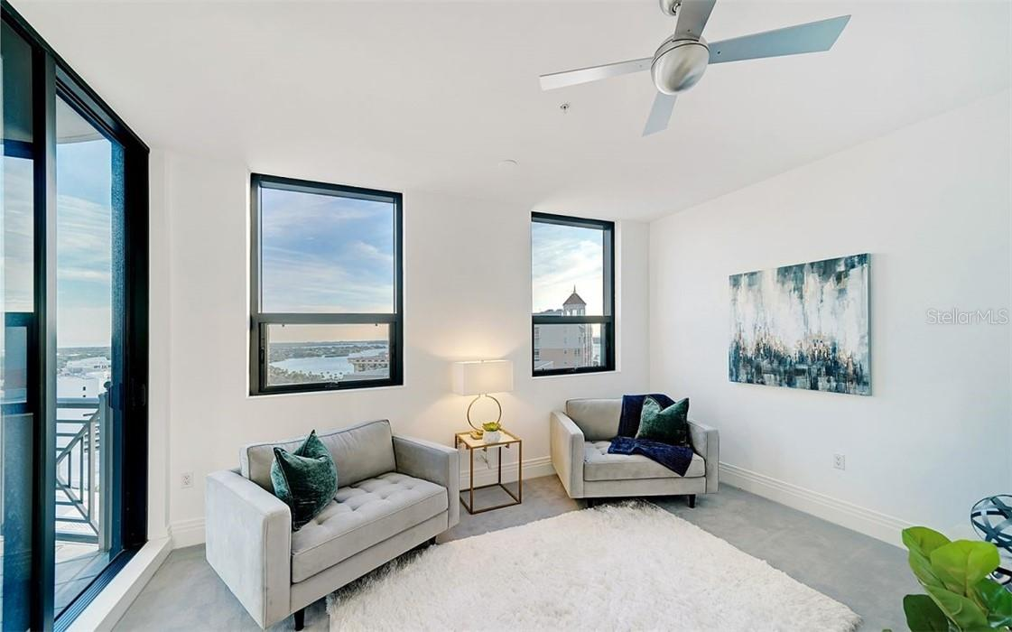 Guest Bedroom #1 - En Suite - Condo for sale at 50 Central Ave #16 South, Sarasota, FL 34236 - MLS Number is A4454416