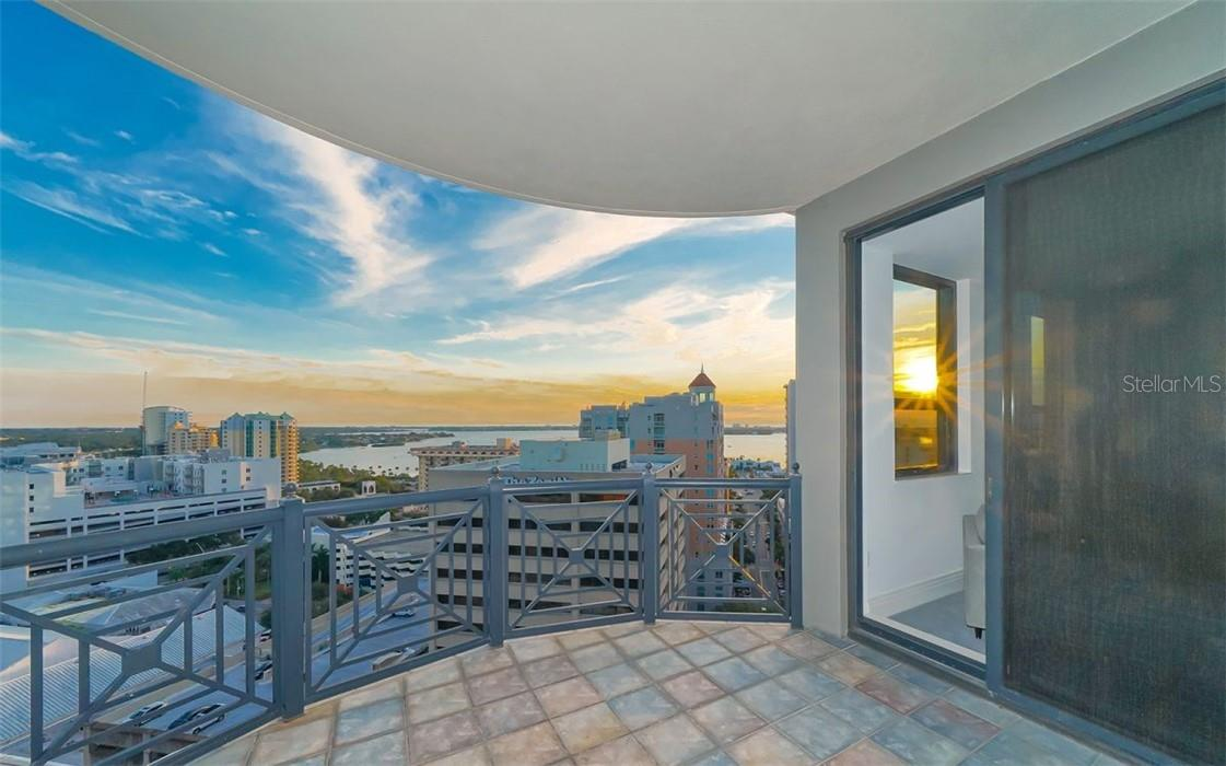 Glowing Year Round Sunsets Over the John Ringling Bridge - Condo for sale at 50 Central Ave #16 South, Sarasota, FL 34236 - MLS Number is A4454416