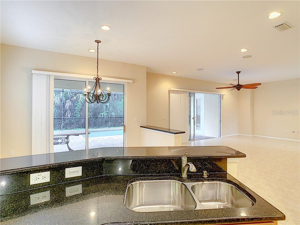 Granite Counters and deep dual sinks are not only awesome, but functional, as well! - Single Family Home for sale at 8111 Santa Rosa Ct, Sarasota, FL 34243 - MLS Number is A4454464