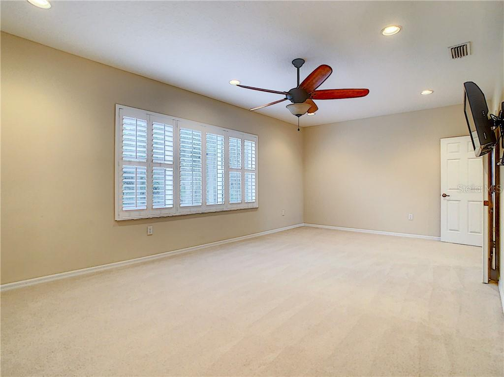 Upstairs Office/Flex Room- Light & Bright with great windows! You could use this as a Music Room/Theatre Room/Craft Room/Collecting Room- the possibilities are endless!! - Single Family Home for sale at 8111 Santa Rosa Ct, Sarasota, FL 34243 - MLS Number is A4454464
