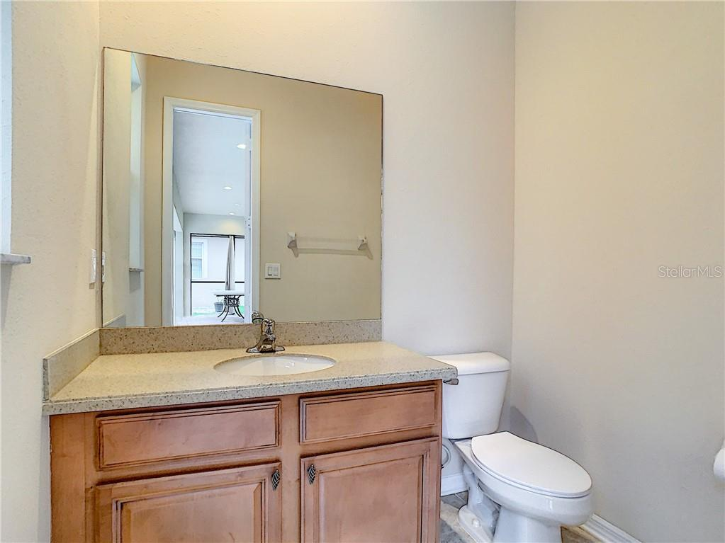 Incredibly Convenient Pool Bath!  Such a great feature- easy to get spoiled with so many extras!! - Single Family Home for sale at 8111 Santa Rosa Ct, Sarasota, FL 34243 - MLS Number is A4454464