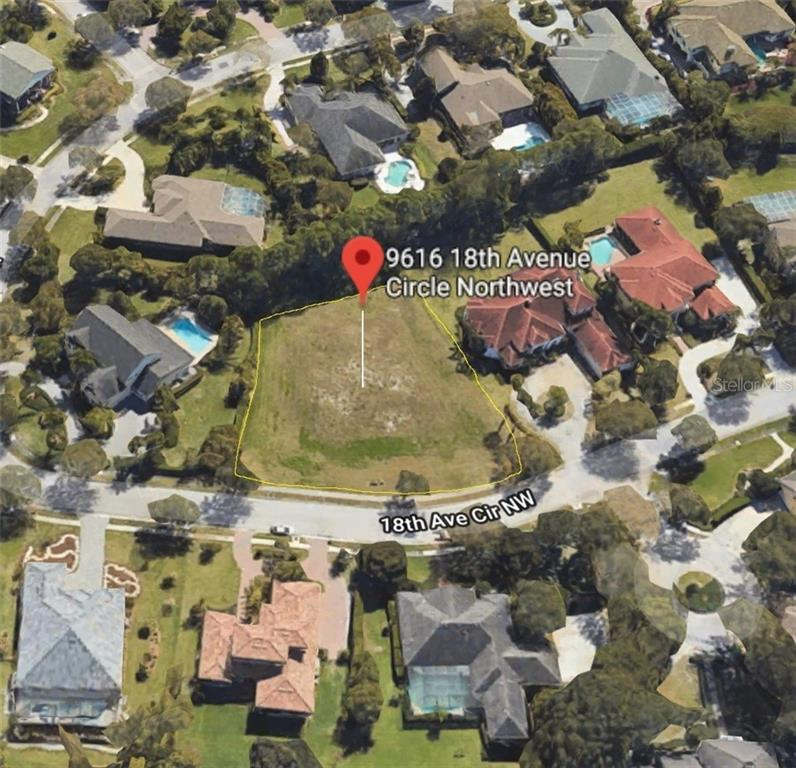 Vacant Land for sale at 9616 18th Avenue Cir Nw, Bradenton, FL 34209 - MLS Number is A4454567