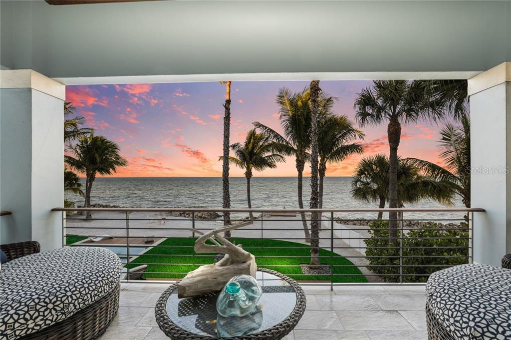 Private covered porch off of master suite - Single Family Home for sale at 834 S Bay Blvd, Anna Maria, FL 34216 - MLS Number is A4455941