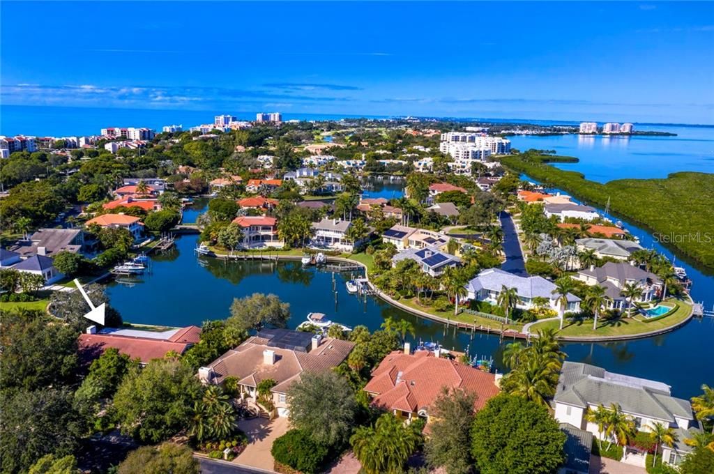 Single Family Home for sale at 521 Harbor Point Rd, Longboat Key, FL 34228 - MLS Number is A4456346