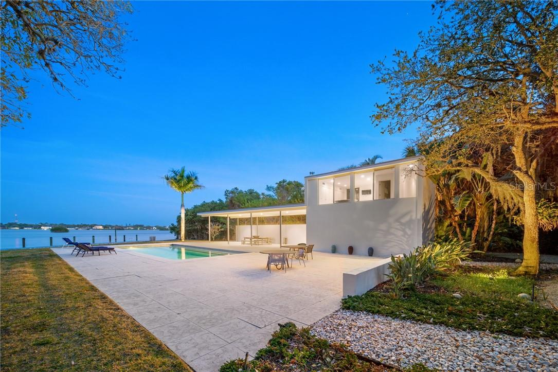 Floor Plans - Pool House - Single Family Home for sale at 316 N Casey Key Rd, Osprey, FL 34229 - MLS Number is A4457320