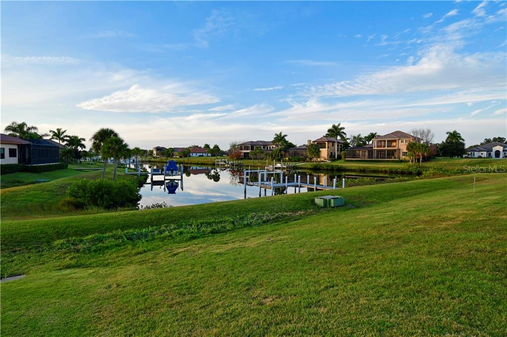 Backyard View of Canal - Single Family Home for sale at 11806 Rive Isle Run, Parrish, FL 34219 - MLS Number is A4457432