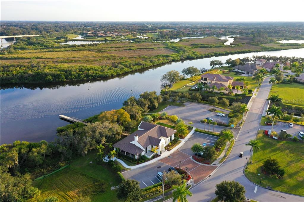 View of Clubhouse - Single Family Home for sale at 11806 Rive Isle Run, Parrish, FL 34219 - MLS Number is A4457432