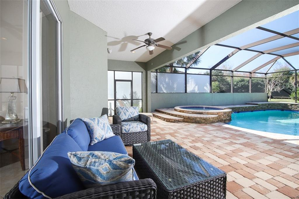 Pool Area - Single Family Home for sale at 6229 Yellow Wood Pl, Sarasota, FL 34241 - MLS Number is A4457471