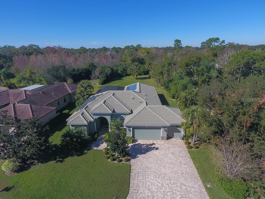 Aerial showing lot size - Single Family Home for sale at 6229 Yellow Wood Pl, Sarasota, FL 34241 - MLS Number is A4457471