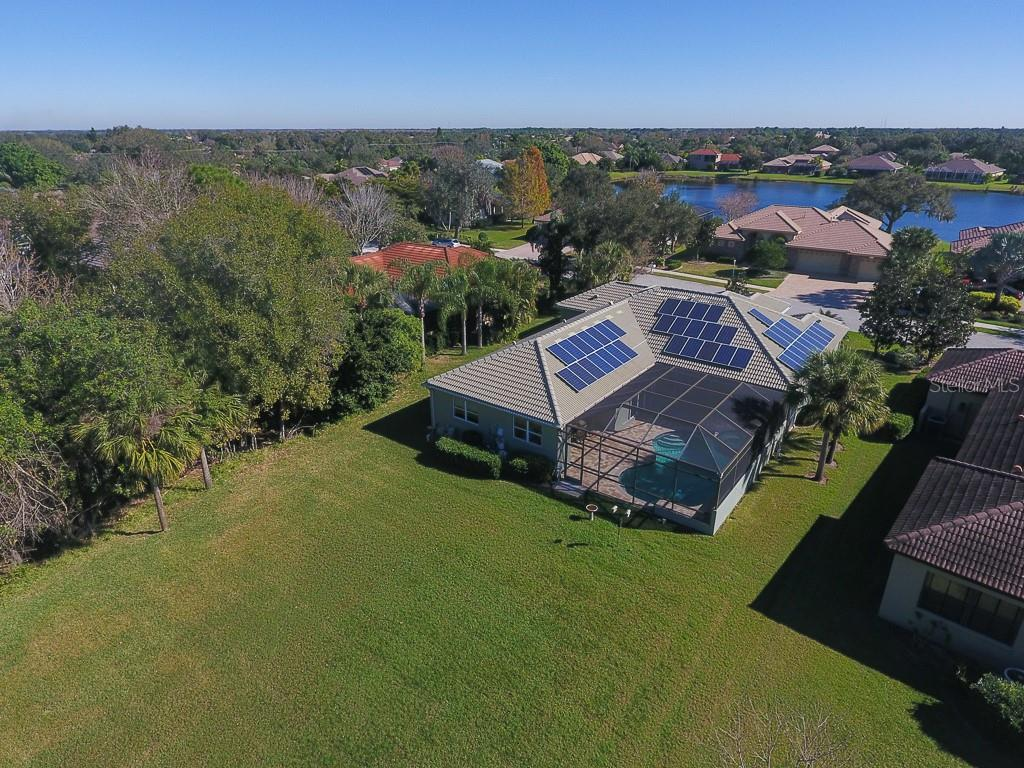 42 solar panels help keep electric bills low - Single Family Home for sale at 6229 Yellow Wood Pl, Sarasota, FL 34241 - MLS Number is A4457471