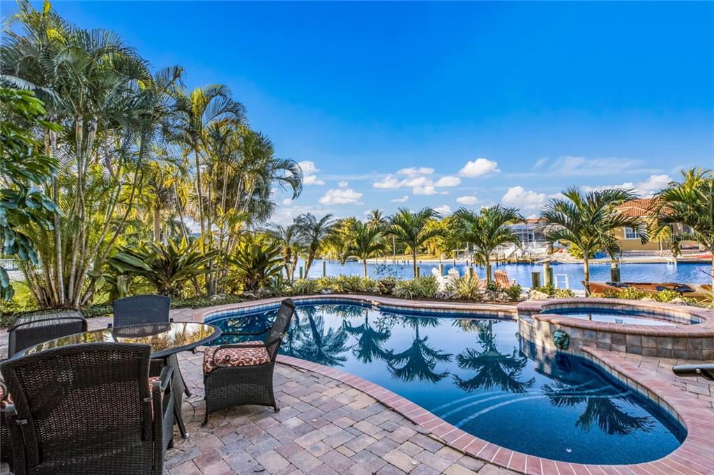 Entertain poolside - Single Family Home for sale at 443 S Polk Dr, Sarasota, FL 34236 - MLS Number is A4459240