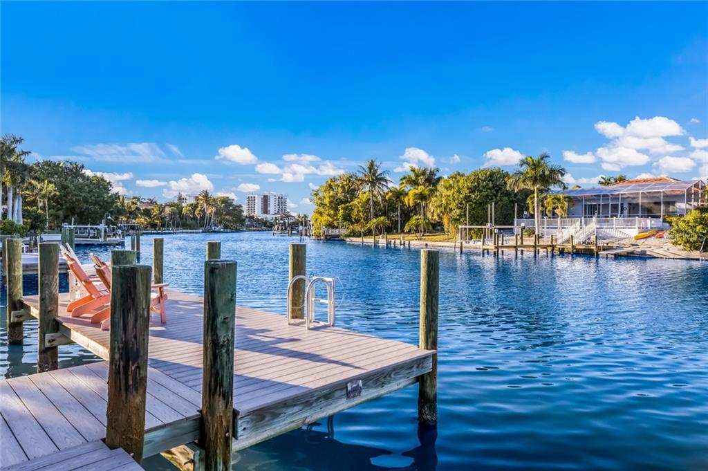 Boat Dock - Single Family Home for sale at 443 S Polk Dr, Sarasota, FL 34236 - MLS Number is A4459240