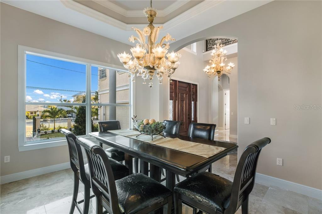 Spacious Dining Room or Den. - Single Family Home for sale at 443 S Polk Dr, Sarasota, FL 34236 - MLS Number is A4459240