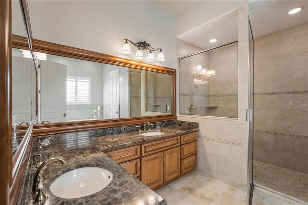 Elegant Master Bath - Single Family Home for sale at 443 S Polk Dr, Sarasota, FL 34236 - MLS Number is A4459240