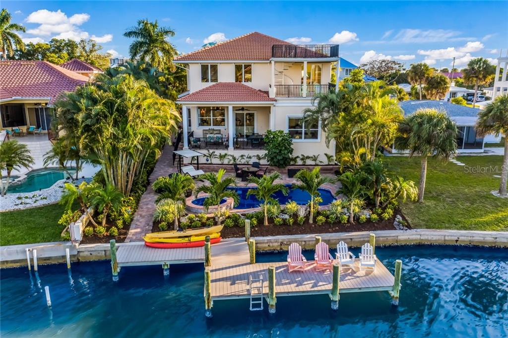Waterfront fun! - Single Family Home for sale at 443 S Polk Dr, Sarasota, FL 34236 - MLS Number is A4459240