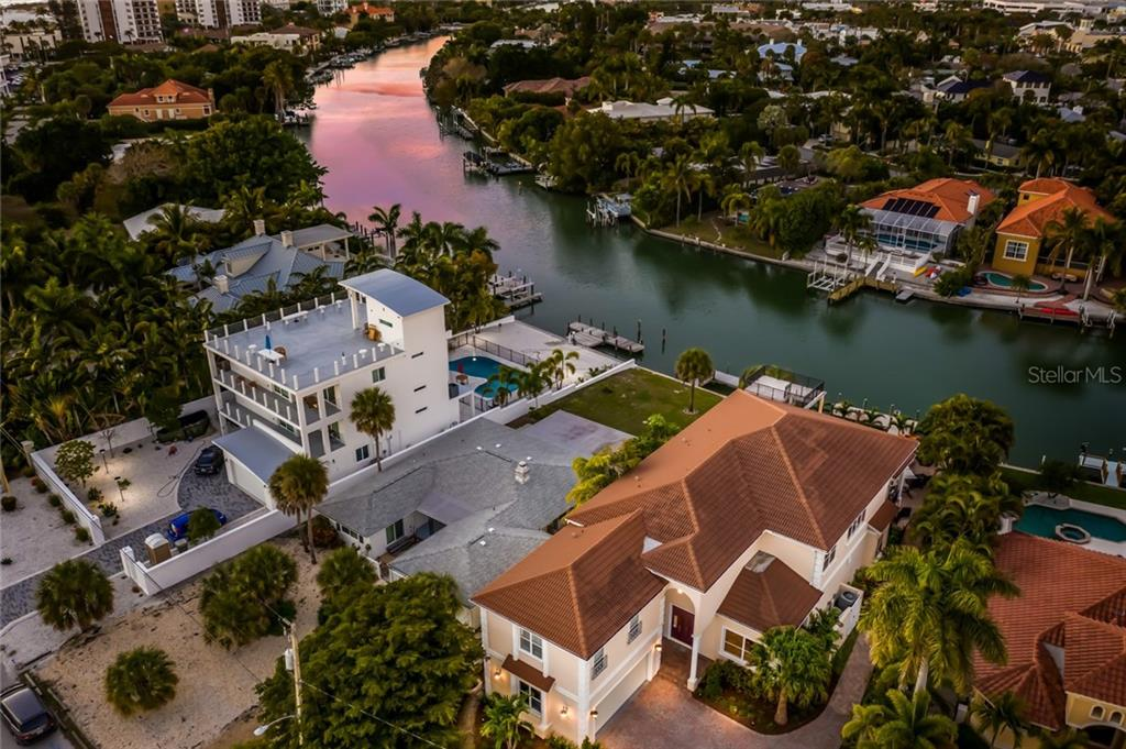 Sunset on the water. - Single Family Home for sale at 443 S Polk Dr, Sarasota, FL 34236 - MLS Number is A4459240
