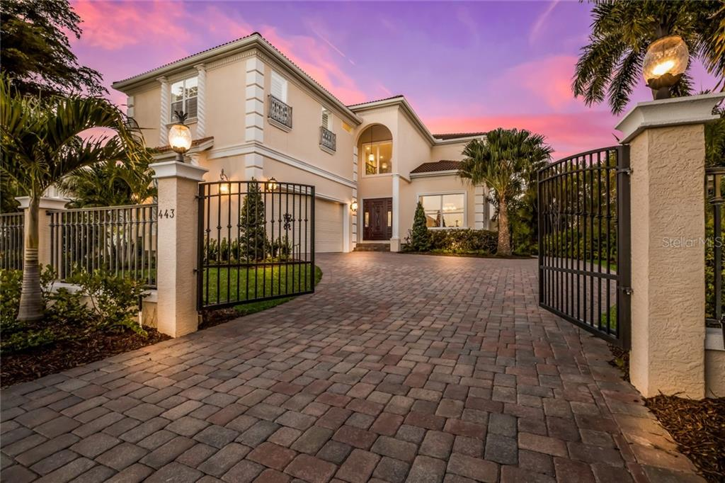 Gated Entry - Single Family Home for sale at 443 S Polk Dr, Sarasota, FL 34236 - MLS Number is A4459240