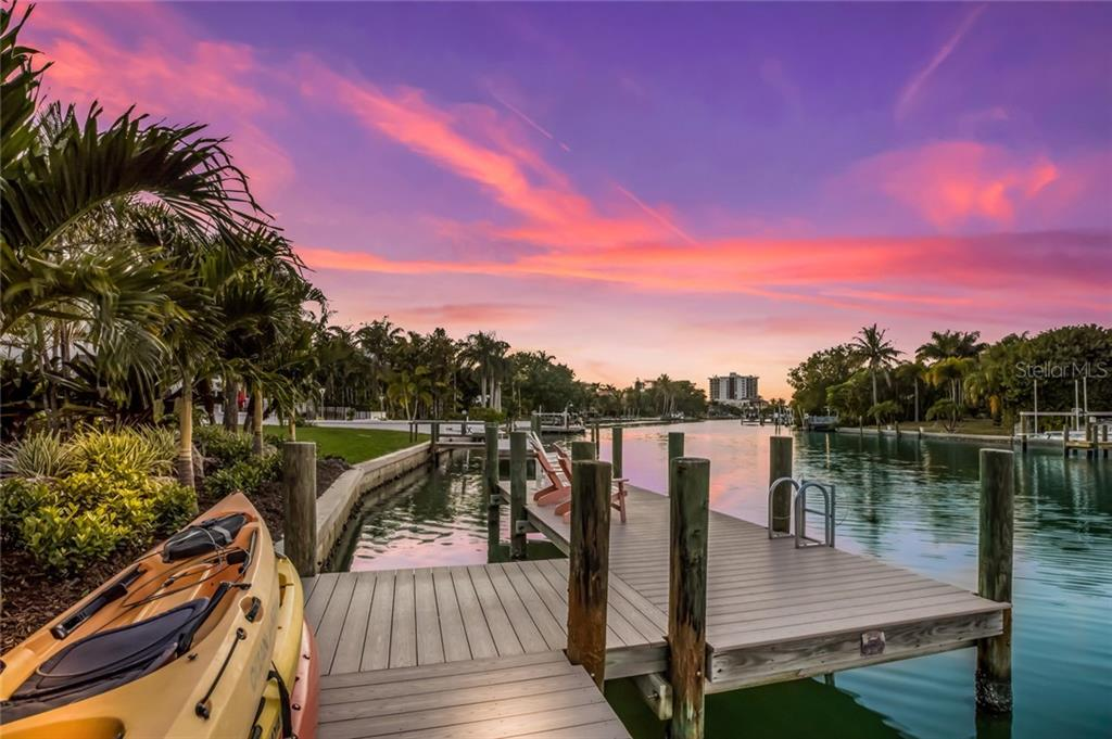 Boat Dock. - Single Family Home for sale at 443 S Polk Dr, Sarasota, FL 34236 - MLS Number is A4459240