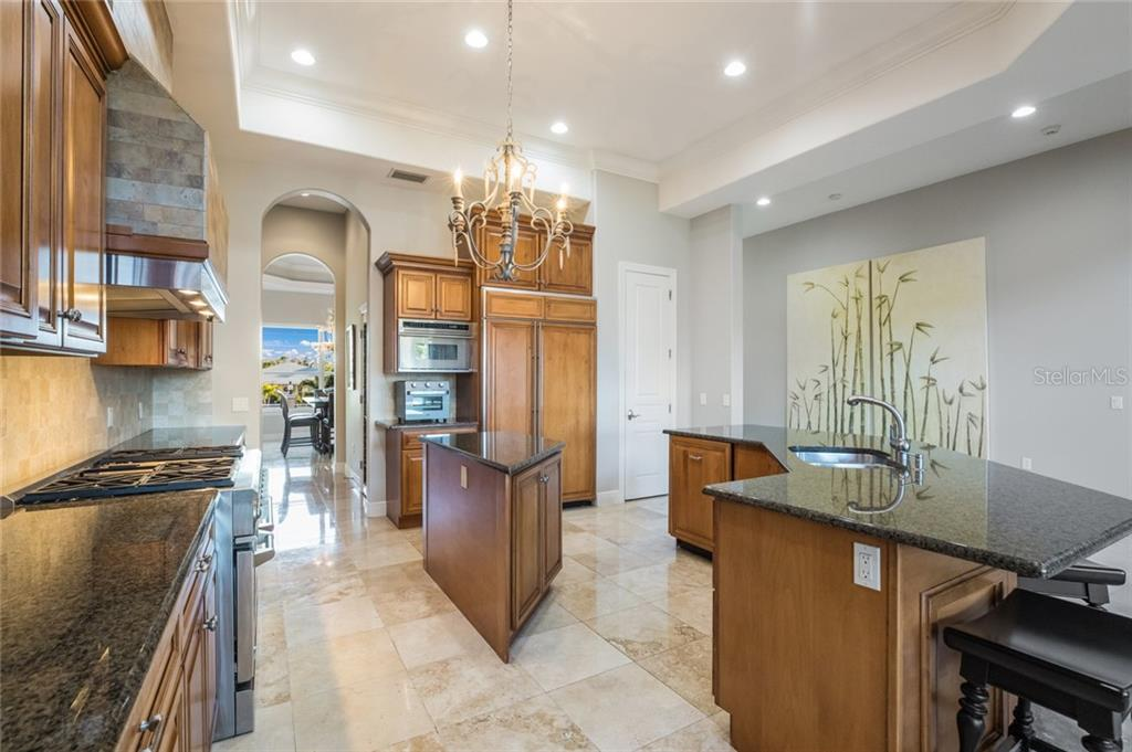 Gourmet Kitchen - Single Family Home for sale at 443 S Polk Dr, Sarasota, FL 34236 - MLS Number is A4459240