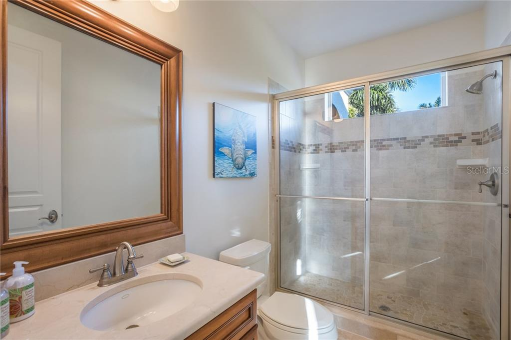 Guest Bath - Single Family Home for sale at 443 S Polk Dr, Sarasota, FL 34236 - MLS Number is A4459240