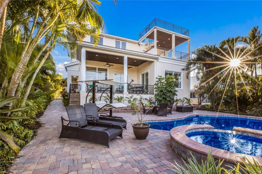 Poolside - Single Family Home for sale at 443 S Polk Dr, Sarasota, FL 34236 - MLS Number is A4459240