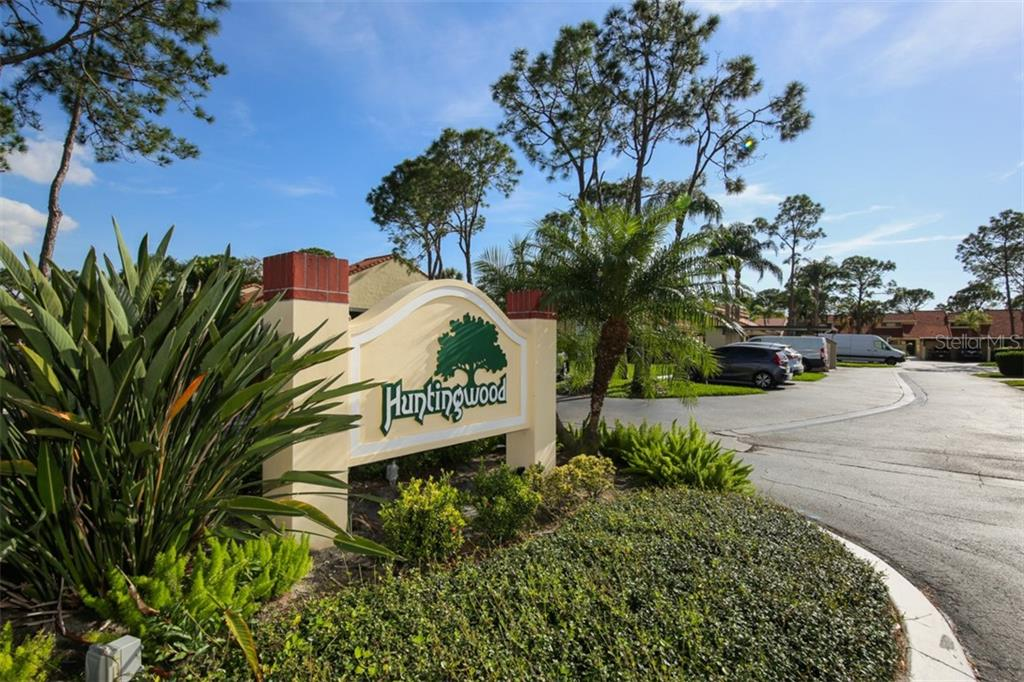 Huntingwood is a maintenance-free neighborhood in The Meadows with two heated pools. This home has a one car garage and new roof. - Townhouse for sale at 5319 Huntingwood Ct #51, Sarasota, FL 34235 - MLS Number is A4460231