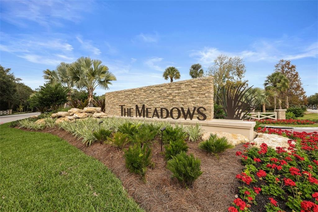 The Meadows is a well-established development of 52 neighborhoods, 1650 acres of mature landscaping, countless ponds and lake, miles of walking and biking paths, preserve area and a shopping village. Minutes to luxury shopping and dining at UTC Mall, downtown Sarasota for art and cultural activities and the world-class Gulf of Mexico beaches.  Come live the active and peaceful lifestyle of The Meadows! - Townhouse for sale at 5319 Huntingwood Ct #51, Sarasota, FL 34235 - MLS Number is A4460231