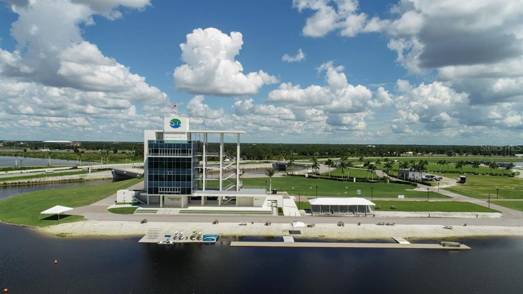The finishing tower at the world-class rowing center. - Townhouse for sale at 5319 Huntingwood Ct #51, Sarasota, FL 34235 - MLS Number is A4460231