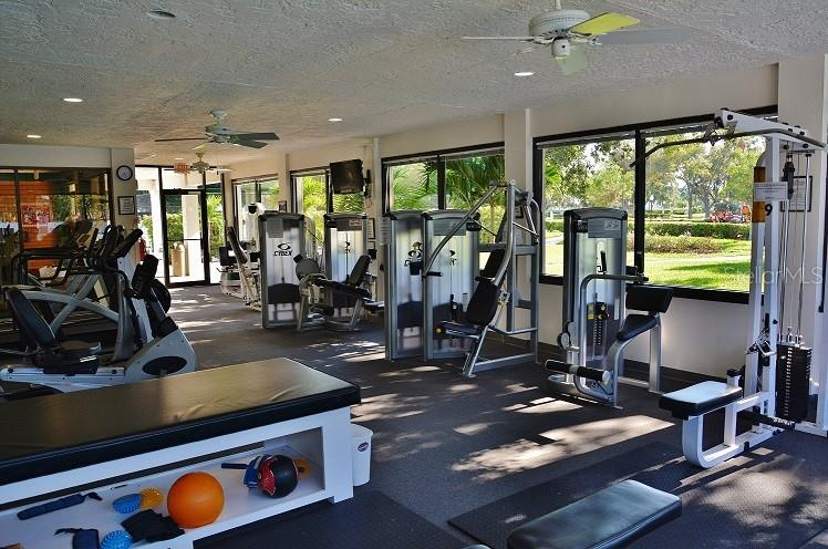 PACC - Fitness Center - Single Family Home for sale at 5831 Fairwoods Cir, Sarasota, FL 34243 - MLS Number is A4460355
