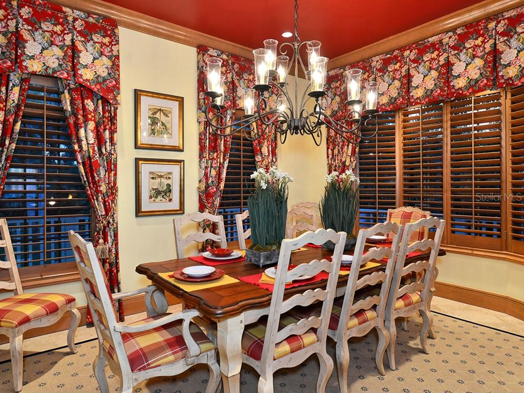 Dining Room - Single Family Home for sale at 6301 Gulf Of Mexico Dr, Longboat Key, FL 34228 - MLS Number is A4460816