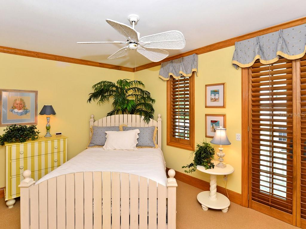 Guest Bedroom #2 - Single Family Home for sale at 6301 Gulf Of Mexico Dr, Longboat Key, FL 34228 - MLS Number is A4460816