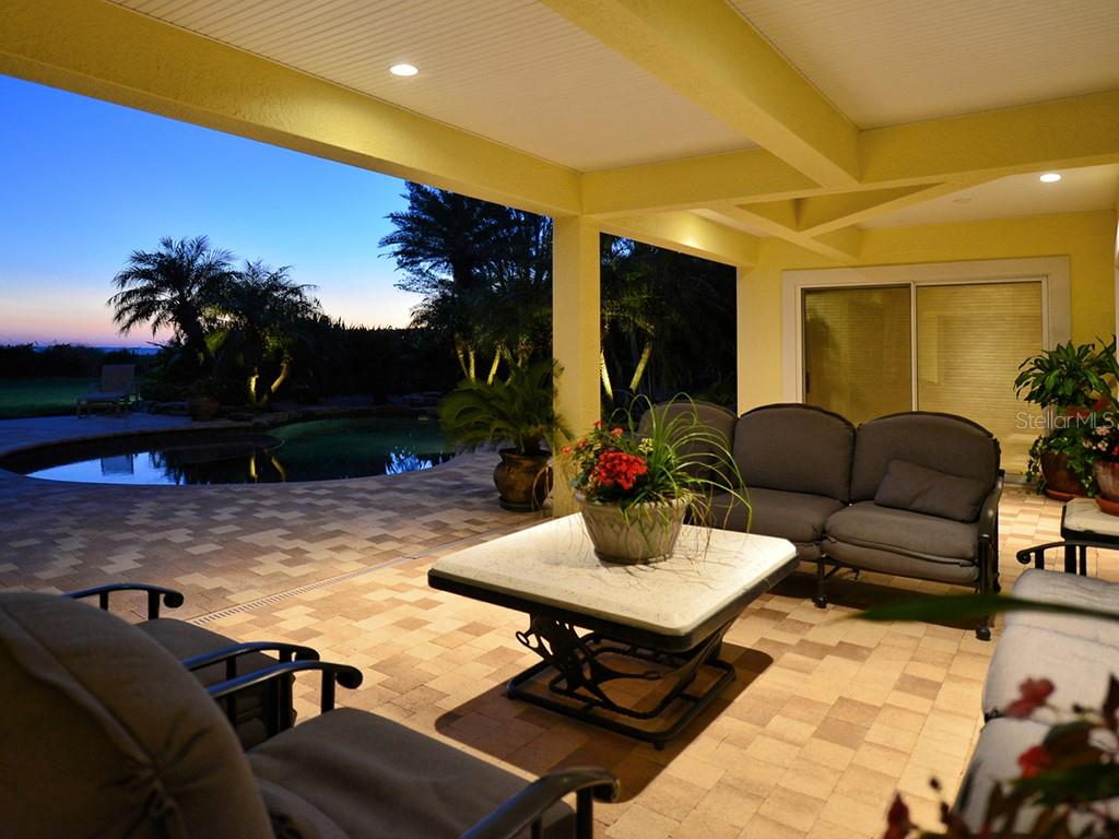 Covered Seating Area - Single Family Home for sale at 6301 Gulf Of Mexico Dr, Longboat Key, FL 34228 - MLS Number is A4460816