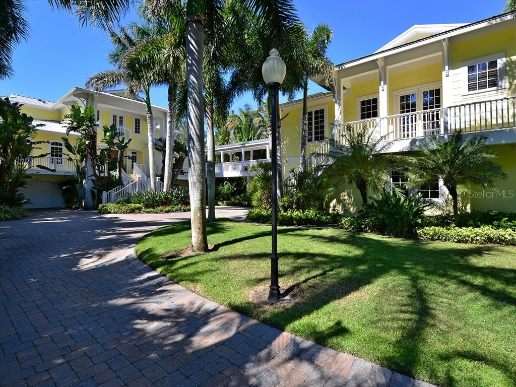 Meandering Drive to Home - Single Family Home for sale at 6301 Gulf Of Mexico Dr, Longboat Key, FL 34228 - MLS Number is A4460816