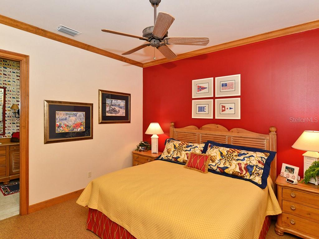 Guest House Guest Bedroom #1 - Single Family Home for sale at 6301 Gulf Of Mexico Dr, Longboat Key, FL 34228 - MLS Number is A4460816