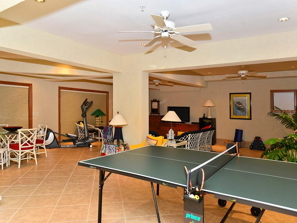 Entertainment/Pool Room - Single Family Home for sale at 6301 Gulf Of Mexico Dr, Longboat Key, FL 34228 - MLS Number is A4460816