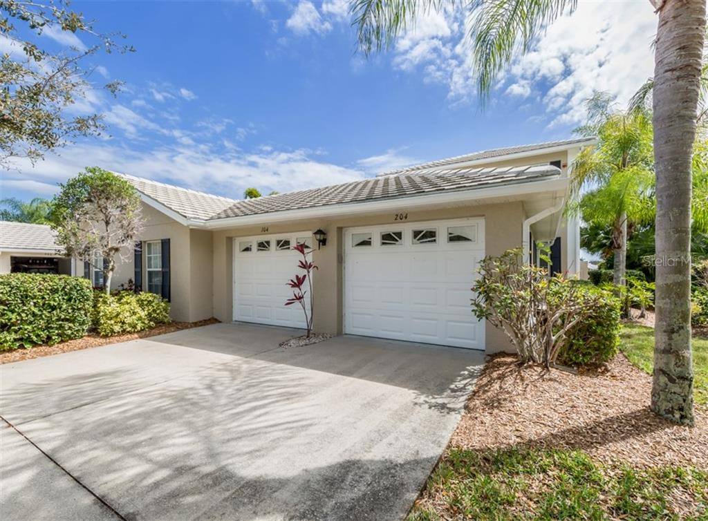 Garage - Condo for sale at 119 Woodbridge Dr #204, Venice, FL 34293 - MLS Number is A4461406