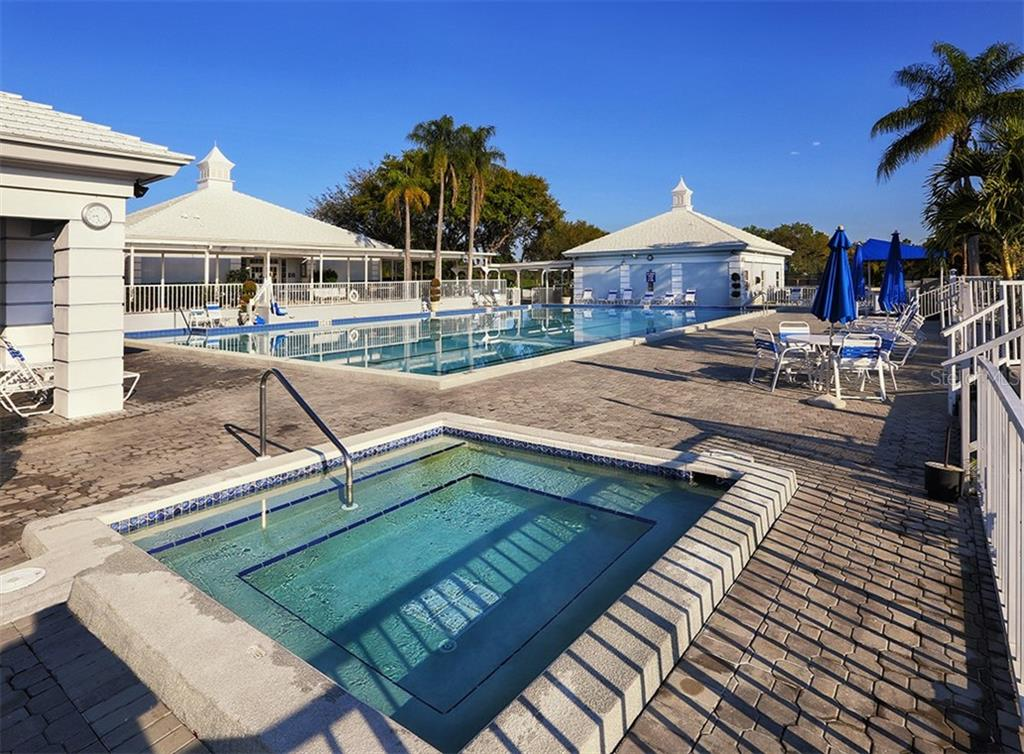 Plantation Golf and Country Club community pool - Condo for sale at 119 Woodbridge Dr #204, Venice, FL 34293 - MLS Number is A4461406