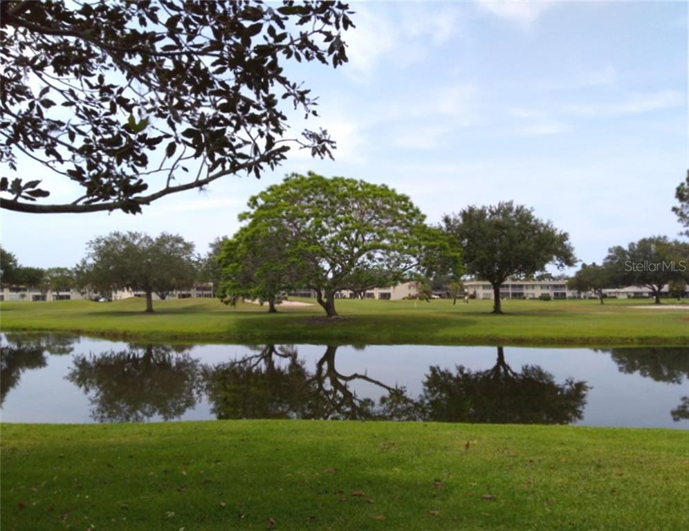 Panoramic scenery from the building - Condo for sale at 7130 Fairway Bend Ln #292, Sarasota, FL 34243 - MLS Number is A4464271