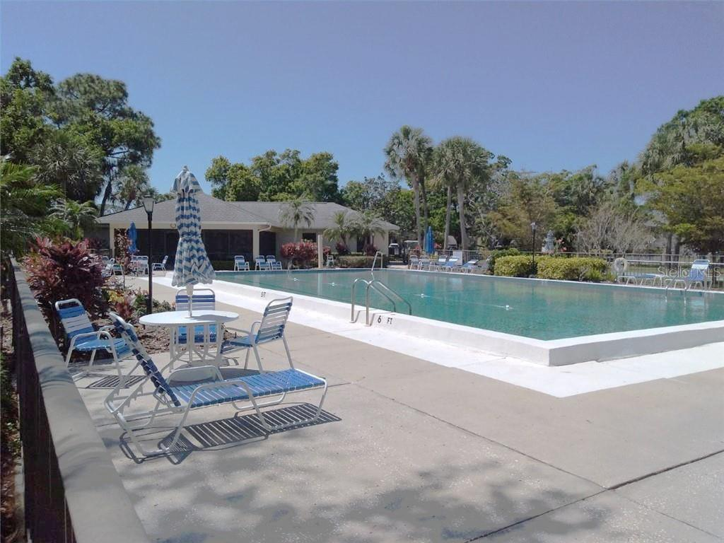 Community Pool - Condo for sale at 7130 Fairway Bend Ln #292, Sarasota, FL 34243 - MLS Number is A4464271