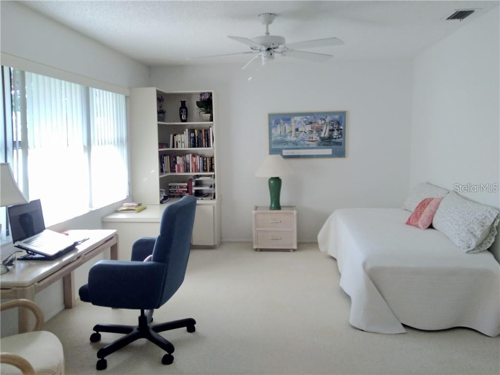 Second Bedroom or Office - Condo for sale at 7130 Fairway Bend Ln #292, Sarasota, FL 34243 - MLS Number is A4464271