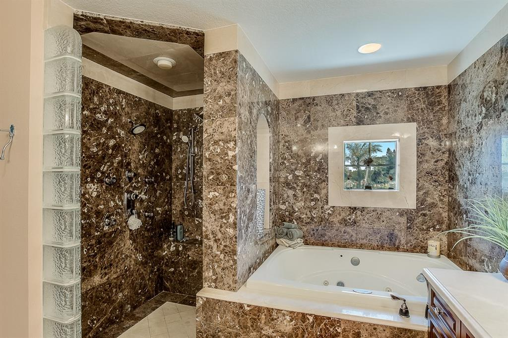 Master Bath - Condo for sale at 5923 Midnight Pass Rd #3, Sarasota, FL 34242 - MLS Number is A4465178