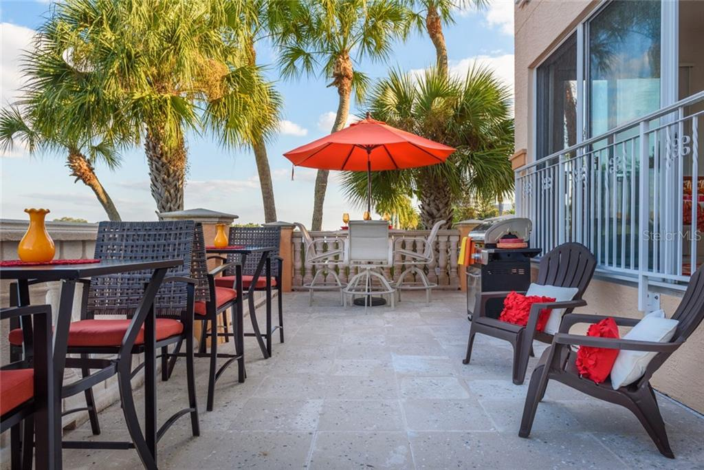 Pool Dining - Condo for sale at 5923 Midnight Pass Rd #3, Sarasota, FL 34242 - MLS Number is A4465178