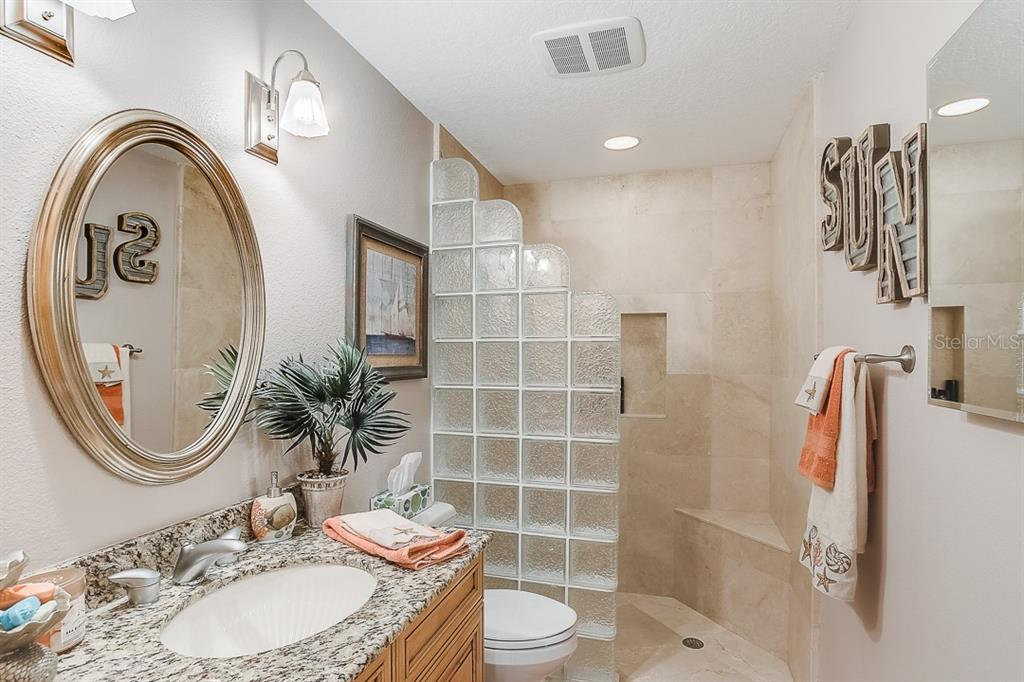 First Floor Bath - Condo for sale at 5923 Midnight Pass Rd #3, Sarasota, FL 34242 - MLS Number is A4465178