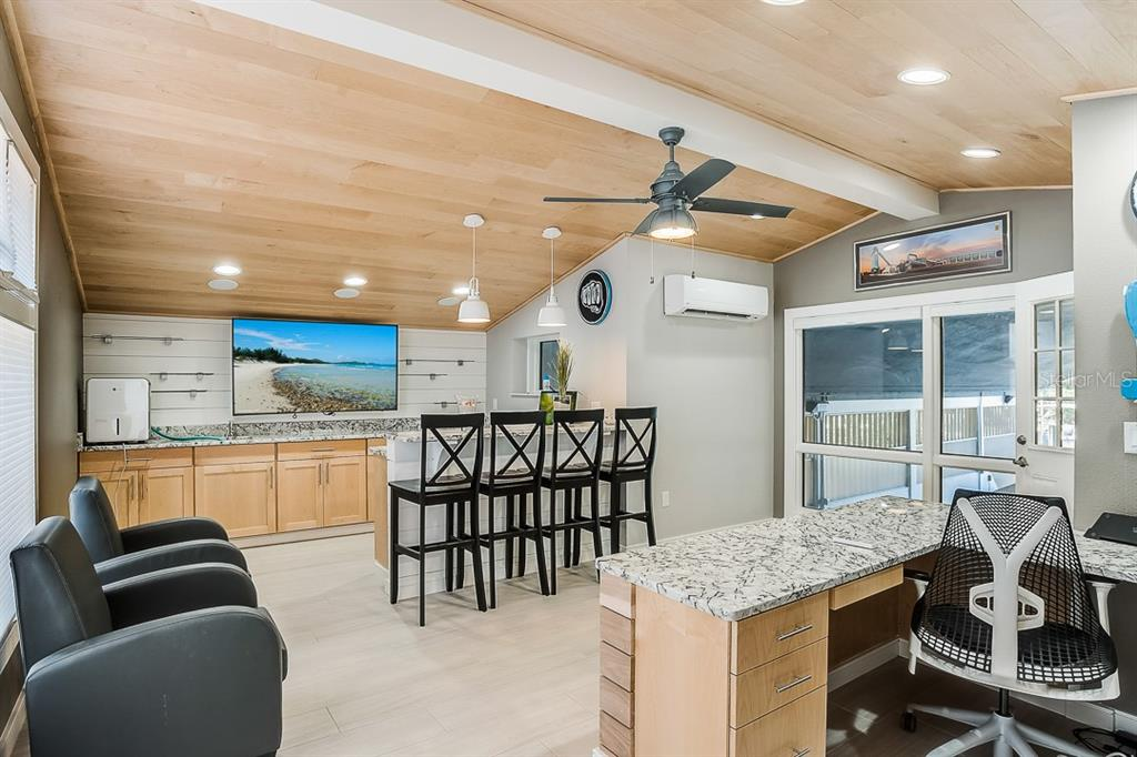 Boathouse Studio with Office and Kitchenette - Condo for sale at 5923 Midnight Pass Rd #3, Sarasota, FL 34242 - MLS Number is A4465178