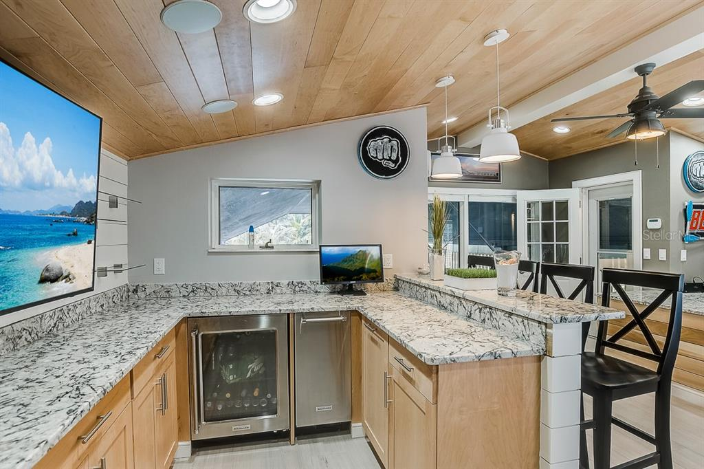 Boathouse Kitchenette - Condo for sale at 5923 Midnight Pass Rd #3, Sarasota, FL 34242 - MLS Number is A4465178