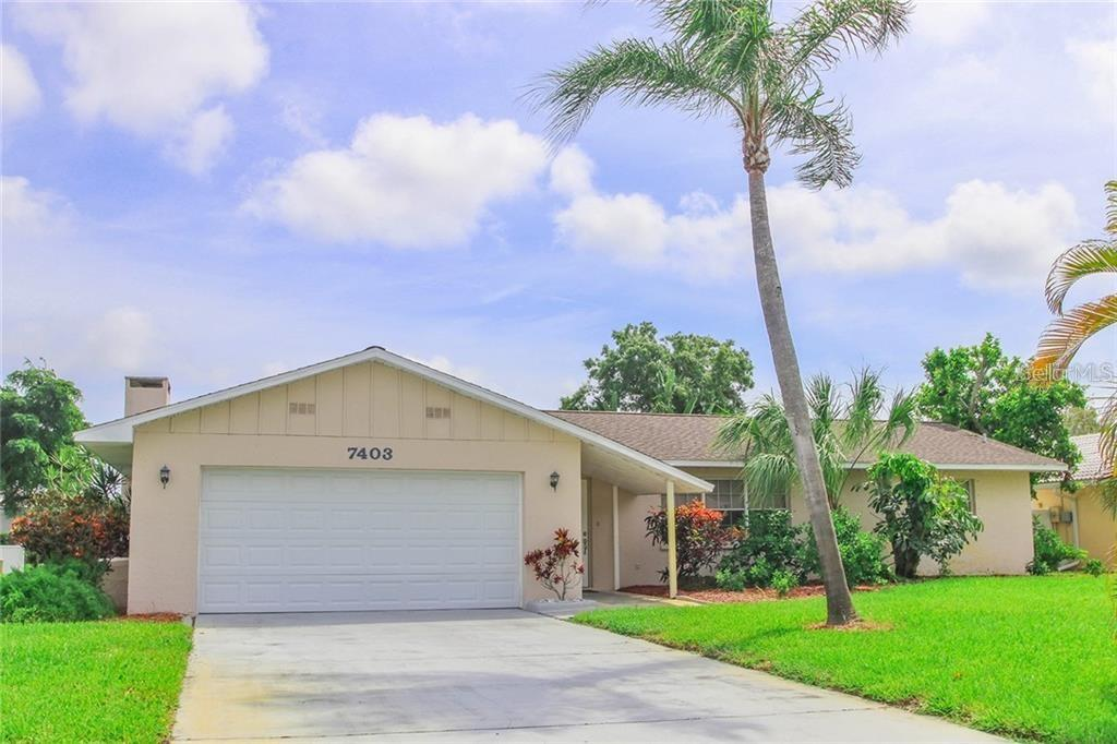 Front of House - Single Family Home for sale at 7403 13th Avenue Dr W, Bradenton, FL 34209 - MLS Number is A4466662