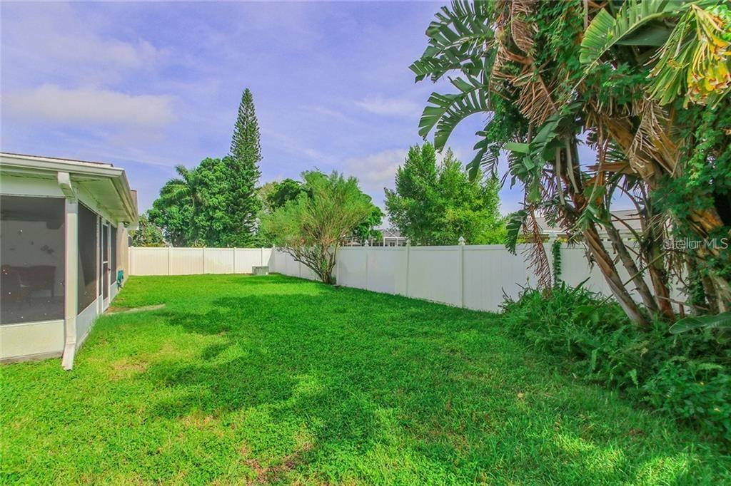 Fenced Back Yard - Single Family Home for sale at 7403 13th Avenue Dr W, Bradenton, FL 34209 - MLS Number is A4466662